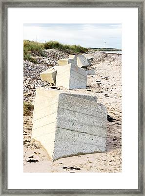 Lossiemouth Beach Framed Print by Tom Gowanlock