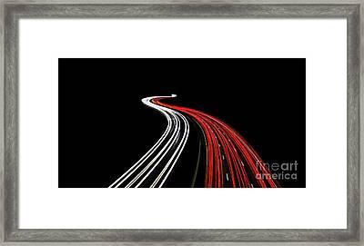 Lost Highway Framed Print