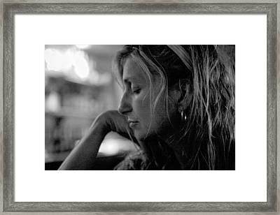 Lost In Life Framed Print by John Toxey