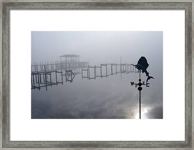 Lost In The Fog Framed Print by Nicole I Hamilton