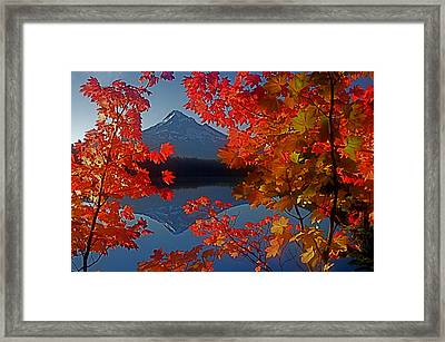 Lost Lake Autumn Framed Print