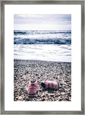 Lost Shoes Framed Print