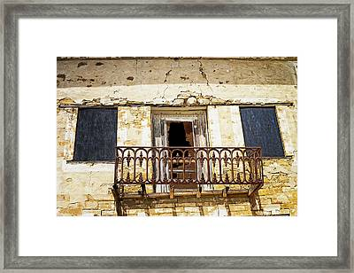 Lost To Time Framed Print