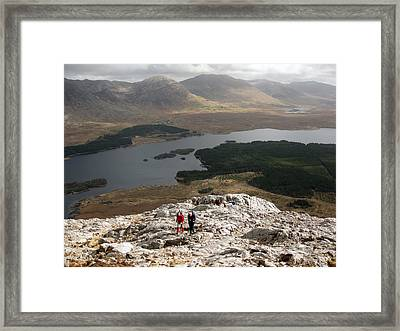 Lough Inagh View Framed Print