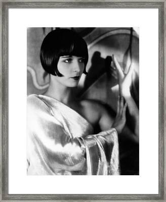 Louise Brooks, Ca. 1929 Framed Print by Everett