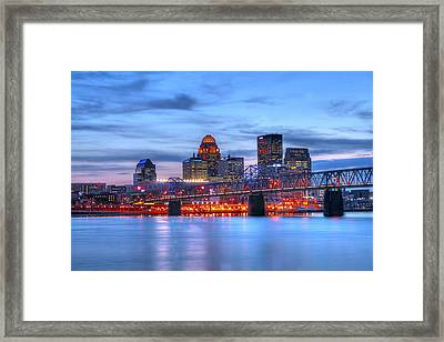 Louisville Kentucky Framed Print by Darren Fisher