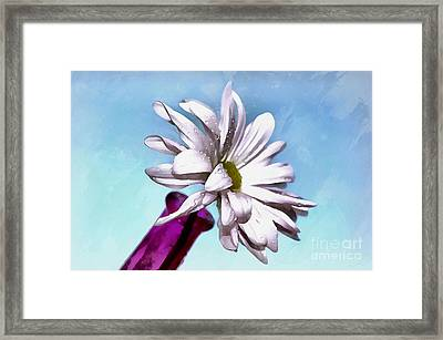 Love Is Pure Framed Print by Krissy Katsimbras