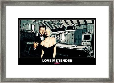 Love Me Tender  Framed Print