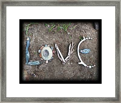 Love Framed Print by Tanielle Childers
