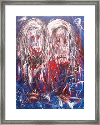 Lovers Framed Print by Randall Ciotti