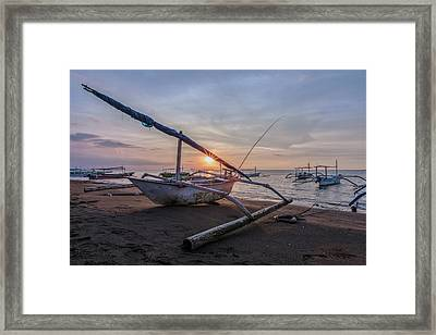 Lovina - Bali Framed Print