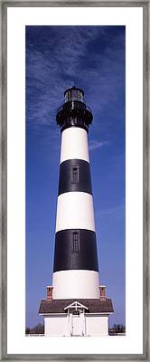 Low Angle View Of Bodie Island Framed Print by Panoramic Images