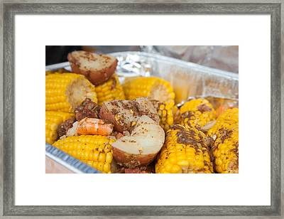 Low Country Boil Framed Print by Erin Cadigan