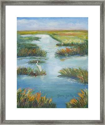 Lowcountry Marsh Framed Print
