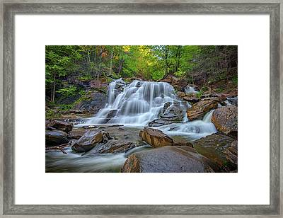 Lower Kaaterskill Falls Framed Print