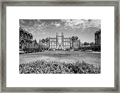 Loyola University Framed Print by Scott Pellegrin