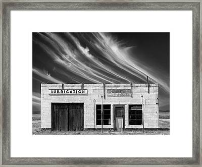 Lubrication Framed Print