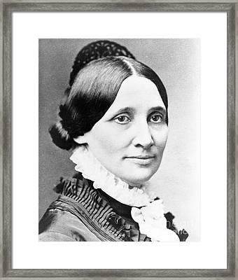 Lucy Hayes, First Lady Framed Print