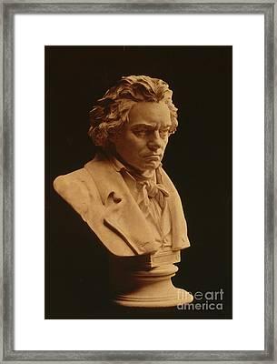 Ludwig Van Beethoven, German Composer Framed Print by Science Source