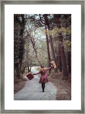 Luggage Framed Print by Joana Kruse