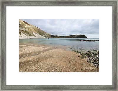 Lulworth Cove Framed Print by Nichola Denny