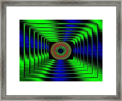 Luminous Energy 5 Framed Print by Will Borden