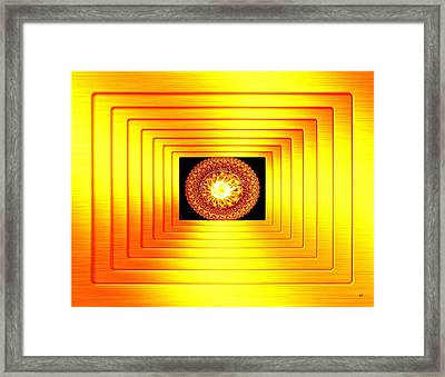 Luminous Energy 7 Framed Print by Will Borden