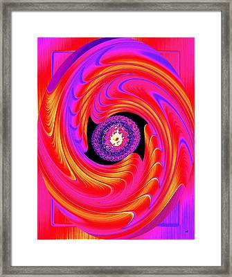 Luminous Energy 8 Framed Print by Will Borden