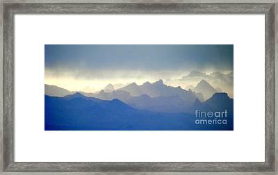 Luminous Framed Print
