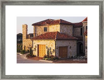 Luxury Home Framed Print