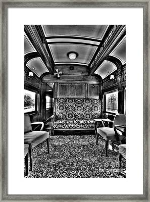 Luxury Lounge Car  Framed Print by Paul W Faust - Impressions of Light