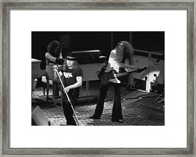 Lynyrd Skynyrd At Winterland Framed Print