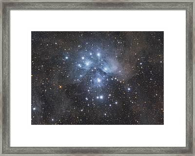 M45 - Pleiades Framed Print