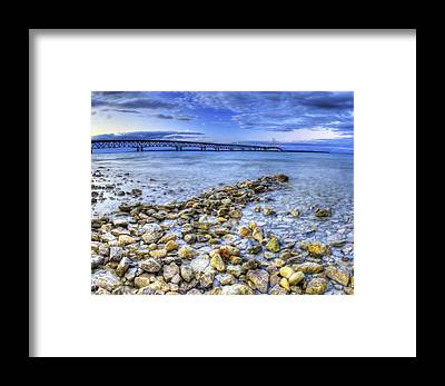 St Ignace Framed Prints