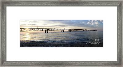 Mackinac Bridge Framed Print