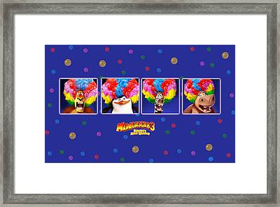 Madagascar 3 Europe's Most Wanted Framed Print