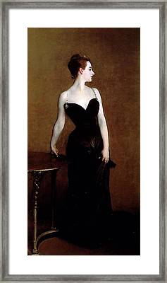 Madame X Framed Print