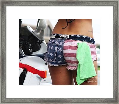 Made In America  Framed Print