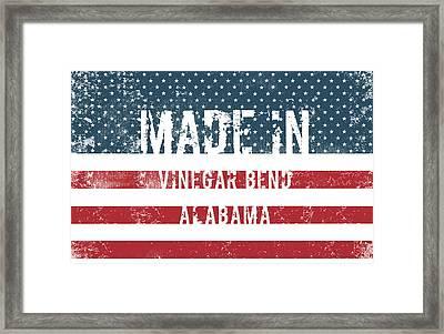 Made In Vinegar Bend, Alabama Framed Print