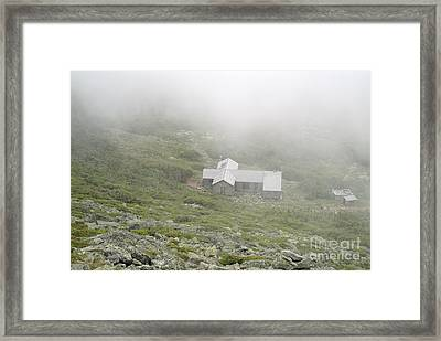 Madison Spring Hut - White Mountains New Hampshire  Framed Print by Erin Paul Donovan