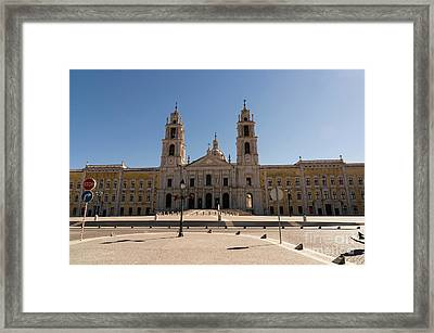 Mafra, National Palace, Portugal Framed Print