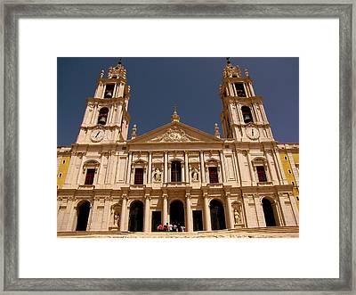 Mafra Portugal Framed Print