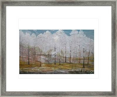 Maggie Valley Framed Print by Hal Newhouser