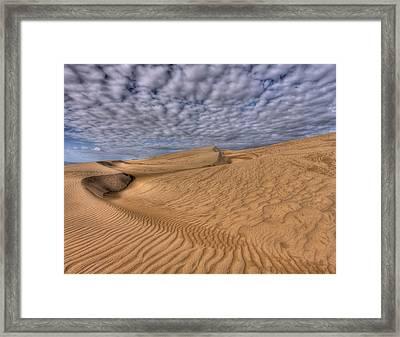 Magic Of The Dunes Framed Print