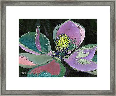 Magnolia Framed Print by Michele Caporaso