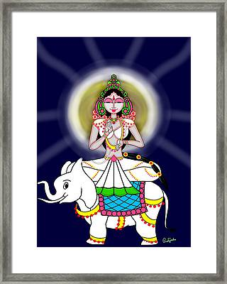 Mahagauri Framed Print by Pratyasha Nithin