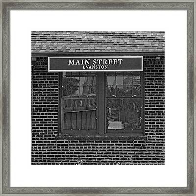 Main Street Station Framed Print by Michael Flood
