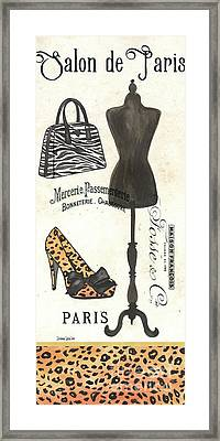Maison De Mode 1 Framed Print
