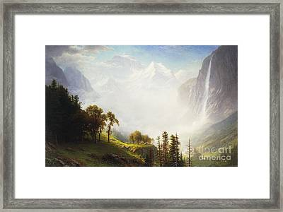 Majesty Of The Mountains Framed Print