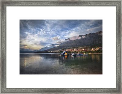 Makarska No 1 Framed Print by Chris Fletcher